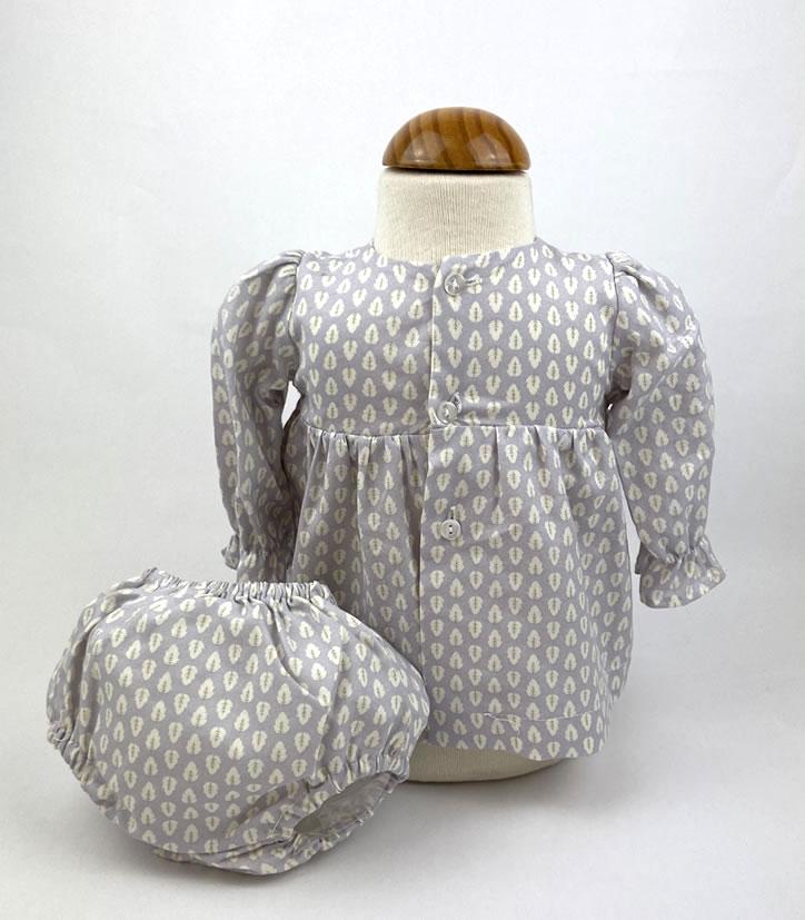 Bañadores La Pala - Moda Bebés -Balancete - Jesusín Hojas Celestes