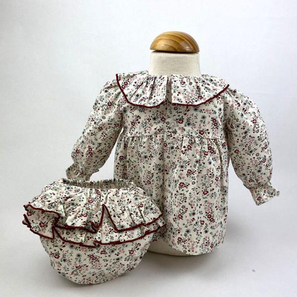 Bañadores La Pala - Moda Bebés -Balancete - Jesusín Flores Rosa