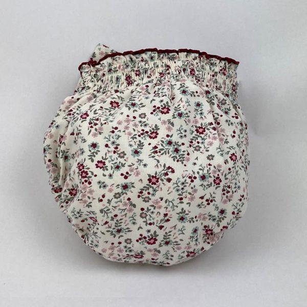 Bañadores La Pala - Moda Bebés -Balancete - Cubrepañal Flores Rosa