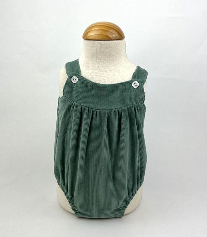 Bañadores La Pala - Moda Bebés -Balancete - Pelele Micropana Musgo