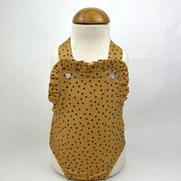 Bañadores La Pala - Moda Bebés -Balancete - Ranita Ocre