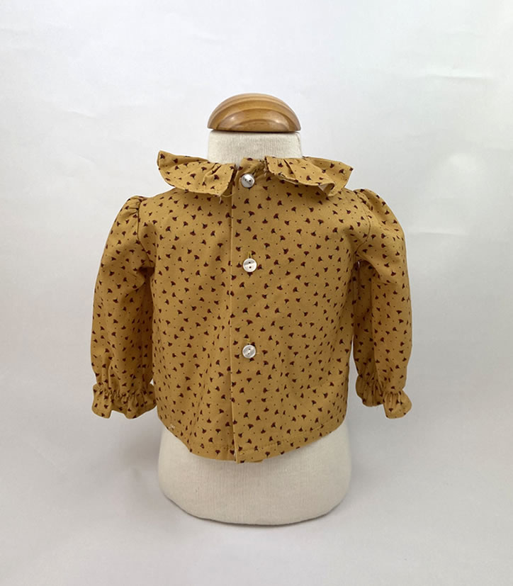 Bañadores La Pala - Moda Bebés -Balancete - Blusa Ocre