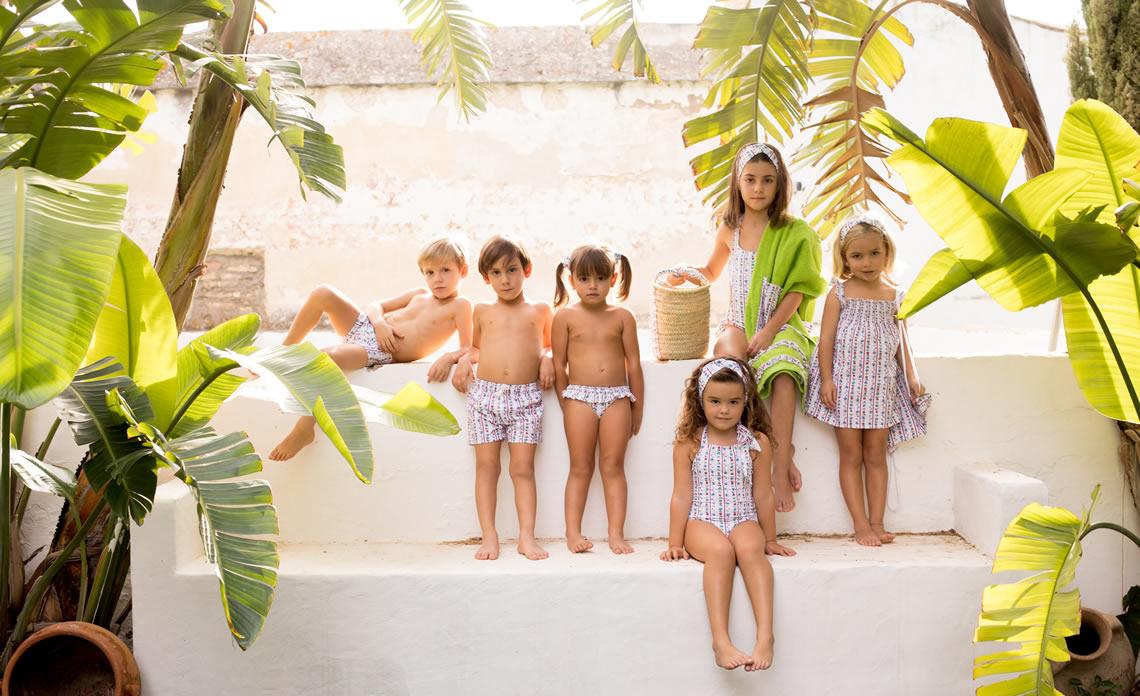 Bañadores La Pala - Tendencias en la moda de baño infantil 2021