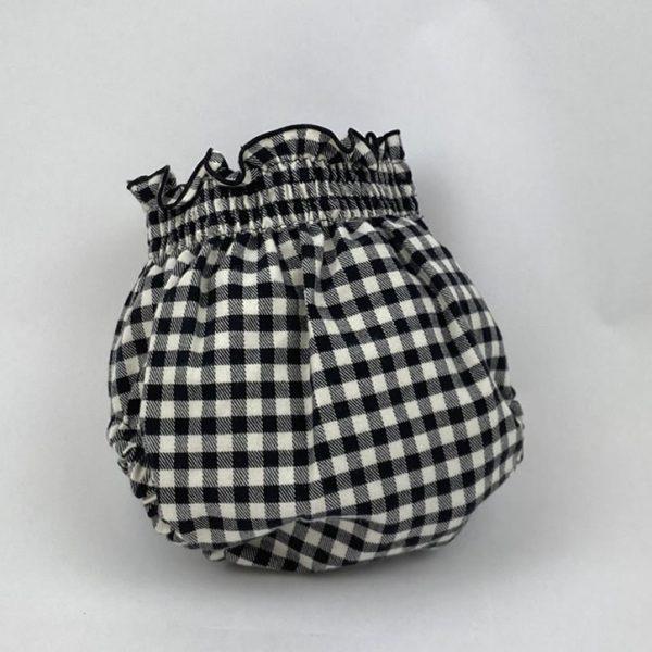 Bañadores La Pala - Moda Bebés -Balancete - Cubrepañal Vichy Negro
