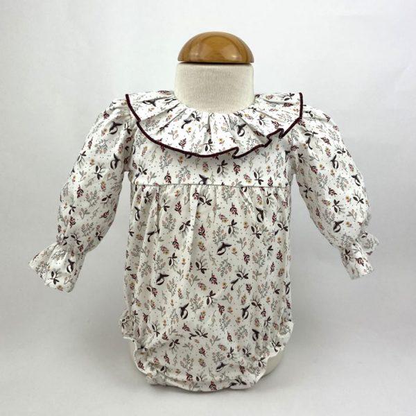 Bañadores La Pala - Moda Bebés -Balancete - Pelele Pajaritos